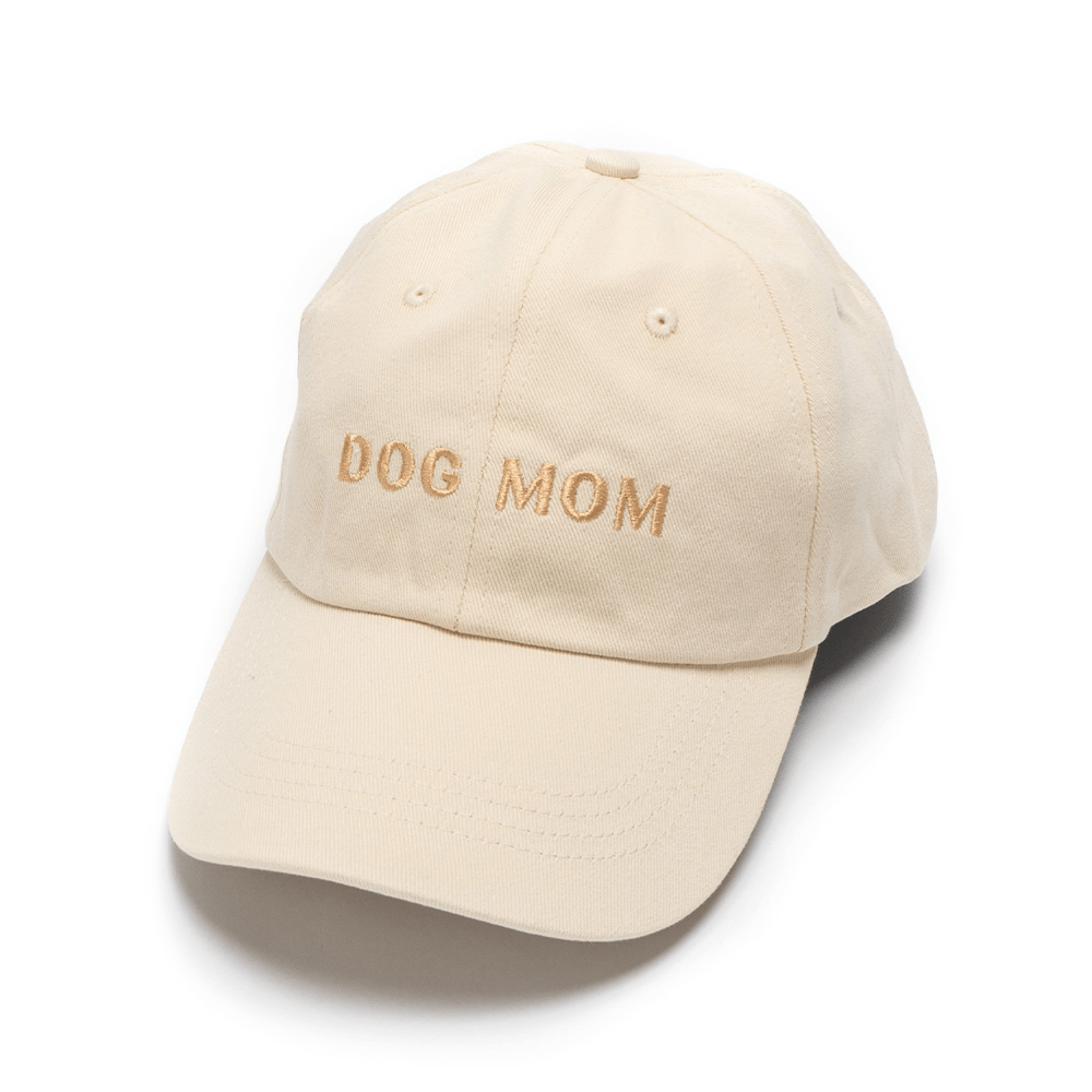 Dog Mom Hat (Ivory) | Lucy & Co