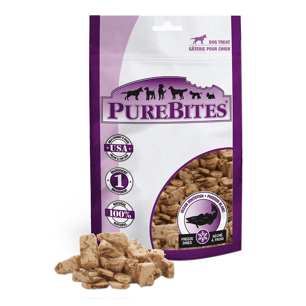 Freeze Dried Ocean Whitefish Treats 3.7oz | Purebites