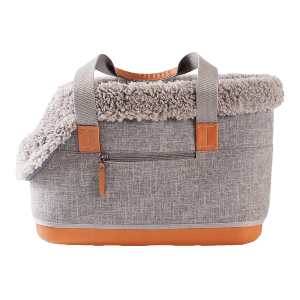 Gray Deluxe Dog Carrier | Leftpine