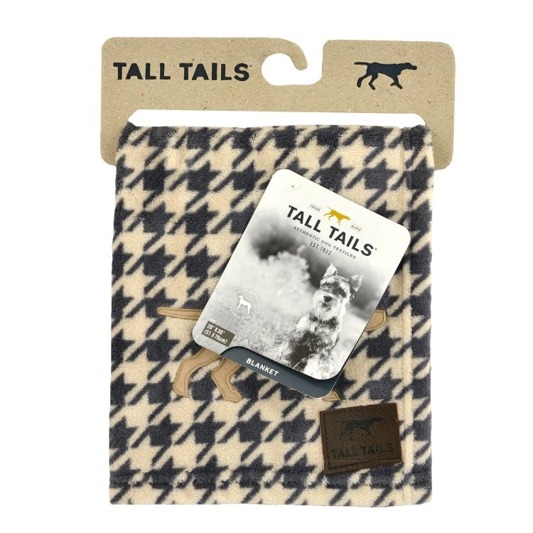 "Houndstooth Blanket (S 20""x30"") 