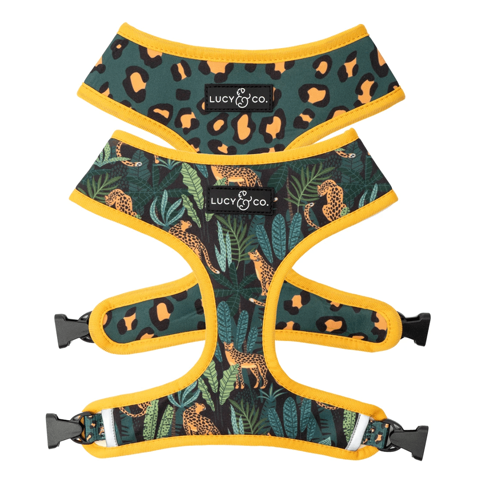 Jungle Vibes Reversible Harness | Lucy & Co.