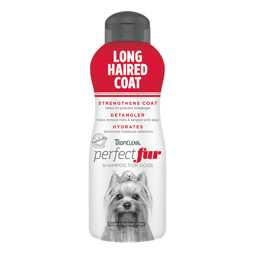 Long Hair Coat Shampoo 16oz