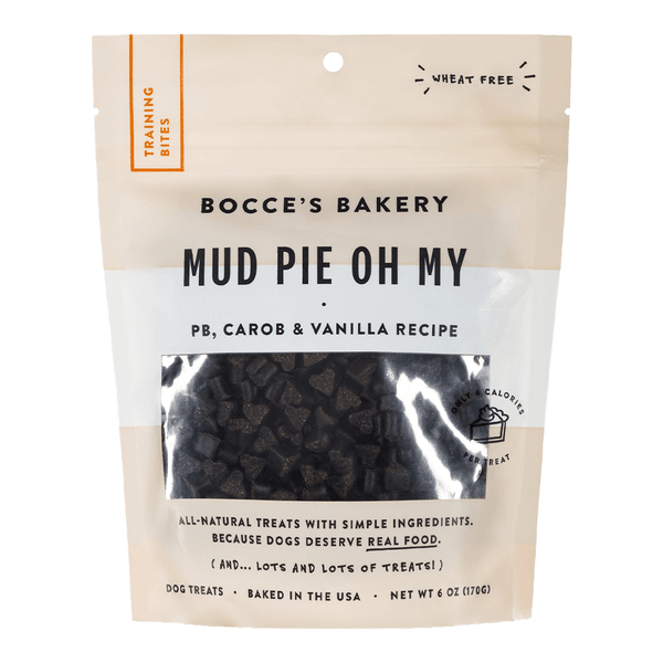 Mud Pie Oh My Soft & Chewy Training Treats 6oz | Bocce's Bakery