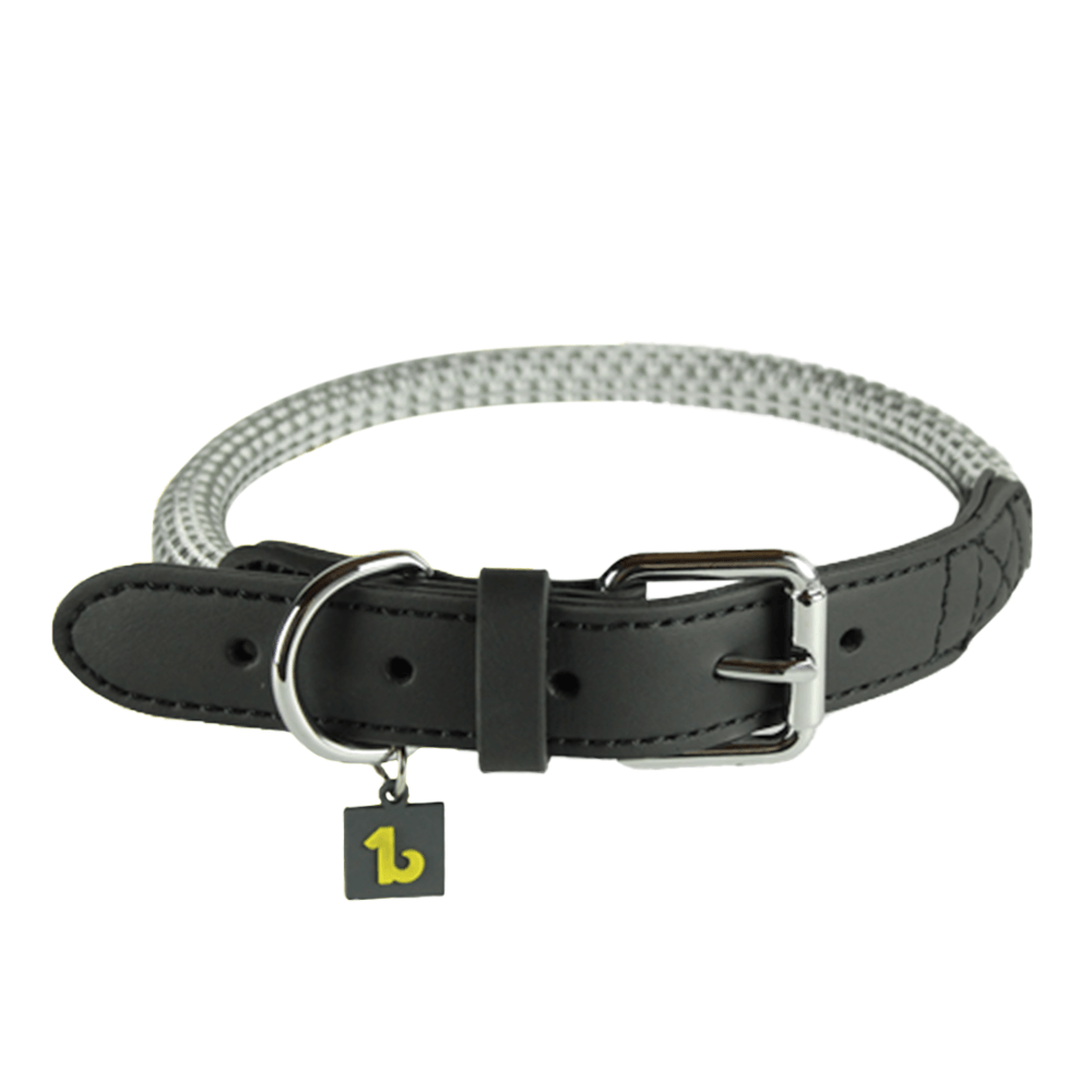 Rope Collar (Grey) | BeOneBreed