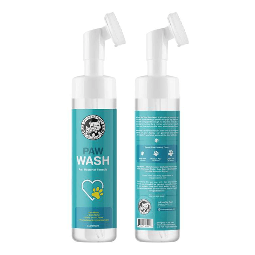 Waterless Paw Wash 7oz | In Pups We Trust