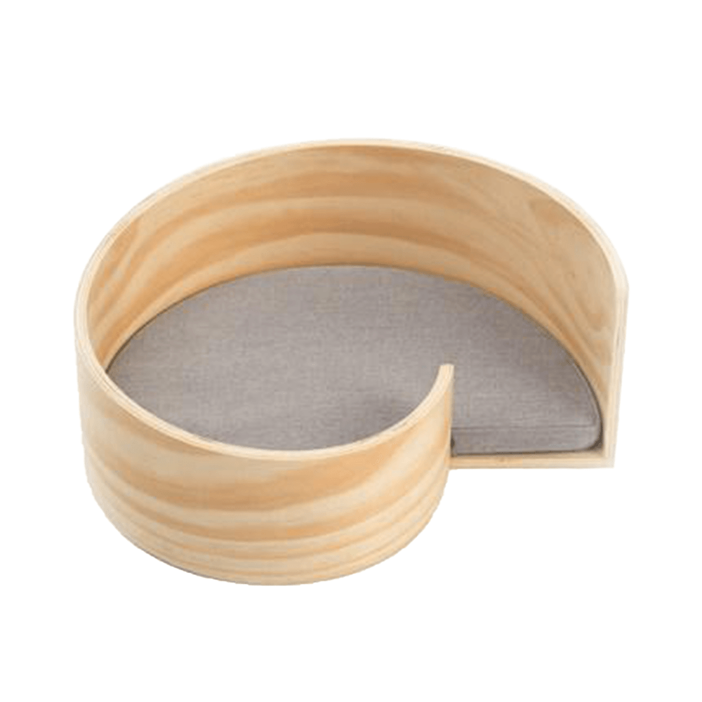 Wooden Pet Spiral Bed | Pidan