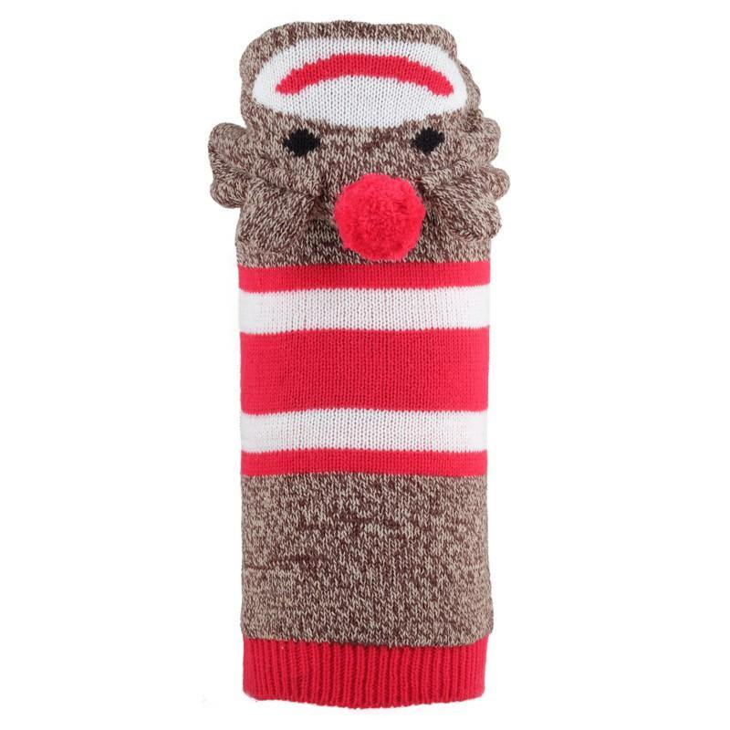 Sock the Monkey Hoodie Sweater - WAGSUP