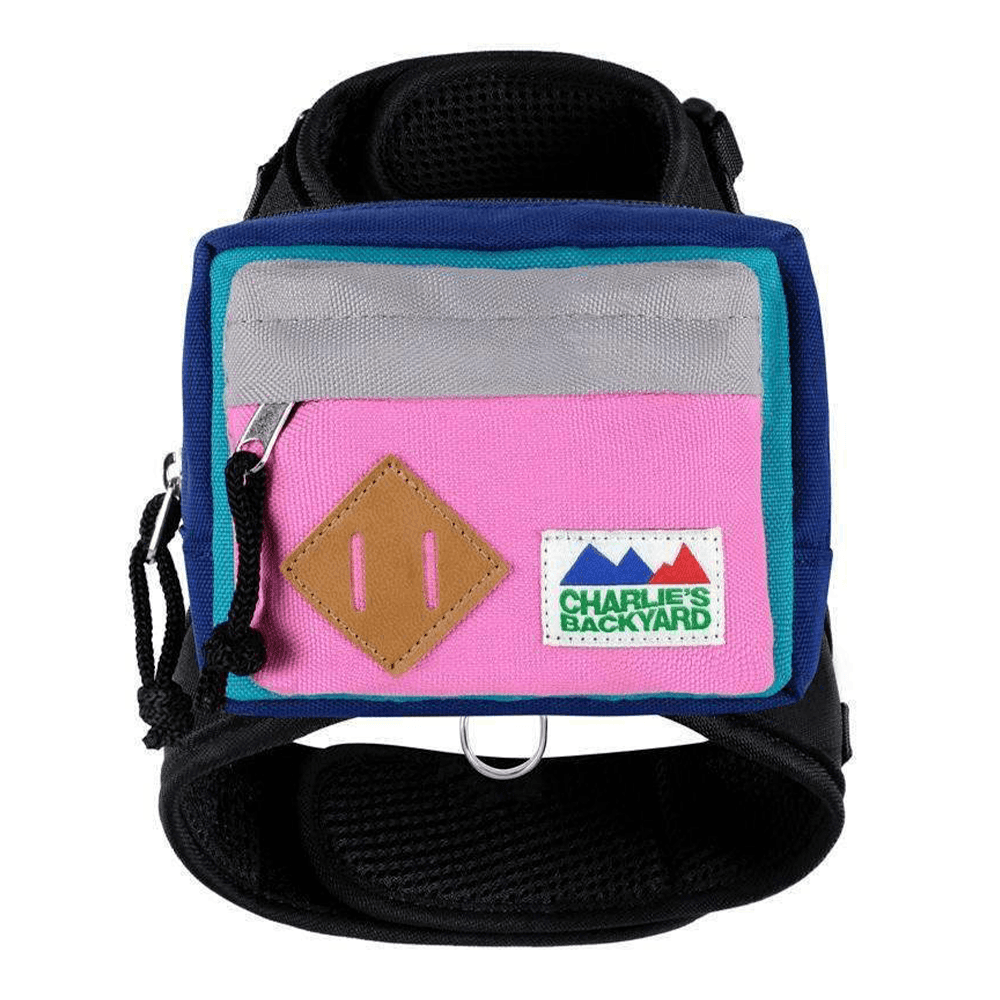 2-Way Backpack Harness | Pink | Charlie's Backyard