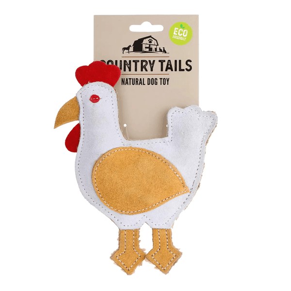 Country Tails Suede Farm Chicken | DOOG