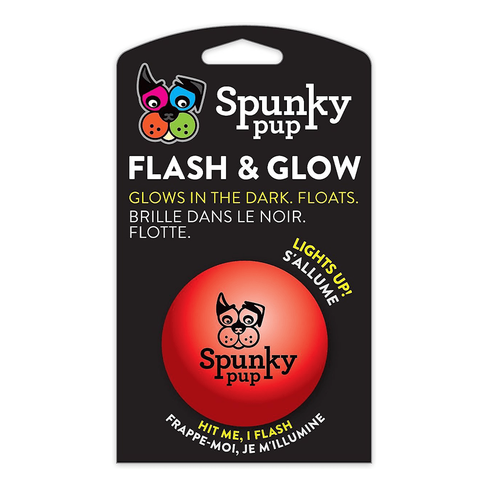 Flash & Glow Ball | Spunky Pup