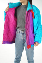 Load image into Gallery viewer, Retro light jacket 80s style
