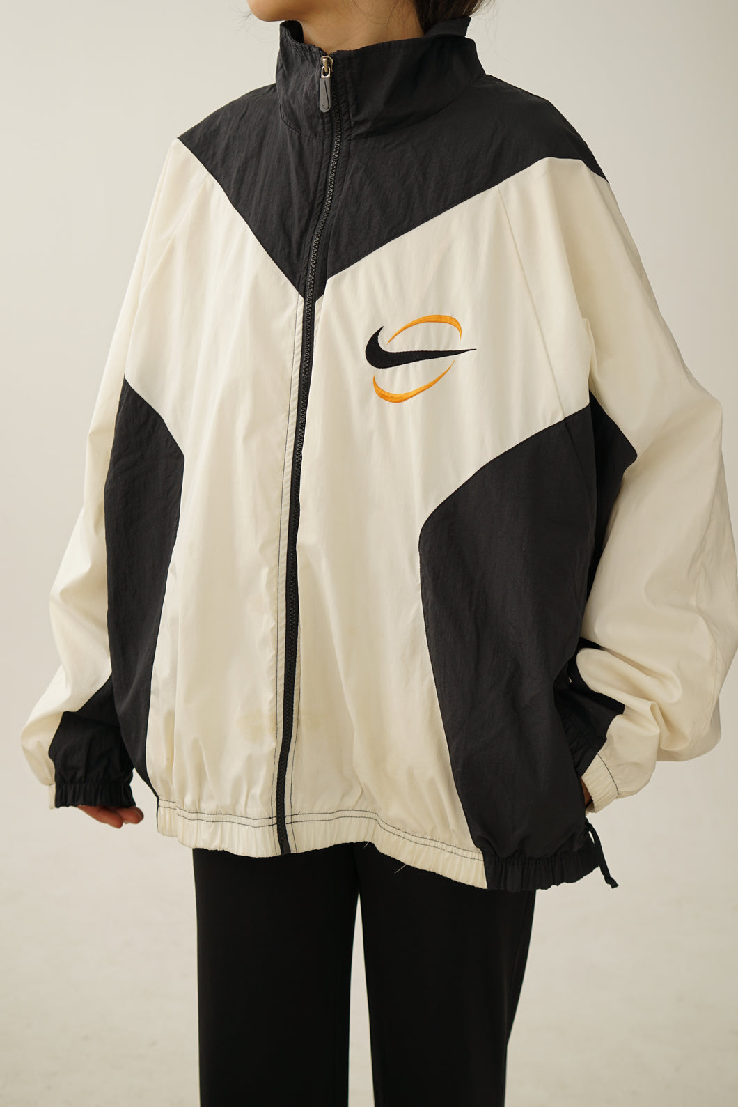 Nike vintage white tag windbreaker XL