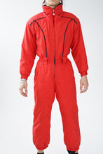 Load image into Gallery viewer, Vintage one piece Obermeyer ski suit, red snow suit for small women size 6