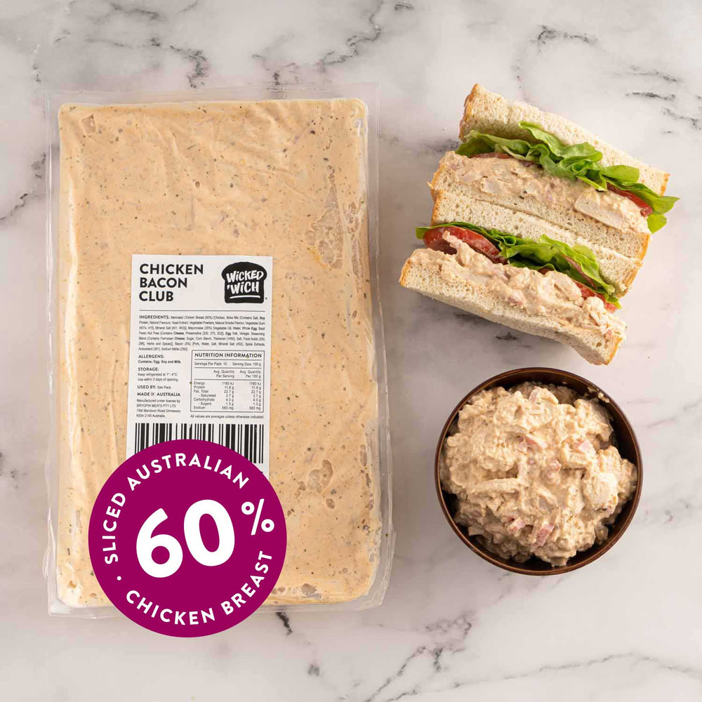 Load image into Gallery viewer, Chicken Bacon Club Sandwich Filling 1kg Pack
