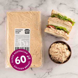 "Load image into Gallery viewer, Chicken Bacon Club <p class=""product-type"">Sandwich Filling </p><p class=""product-format"">10 x 1kg Pack Carton</p>"
