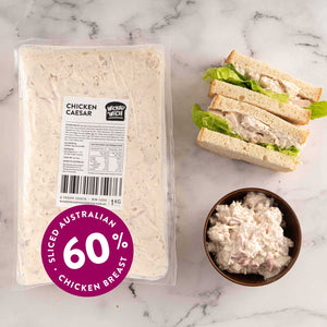 "Load image into Gallery viewer, Chicken Caesar <p class=""product-type"">Sandwich Filling </p><p class=""product-format"">10 x 1kg Pack Carton</p>"