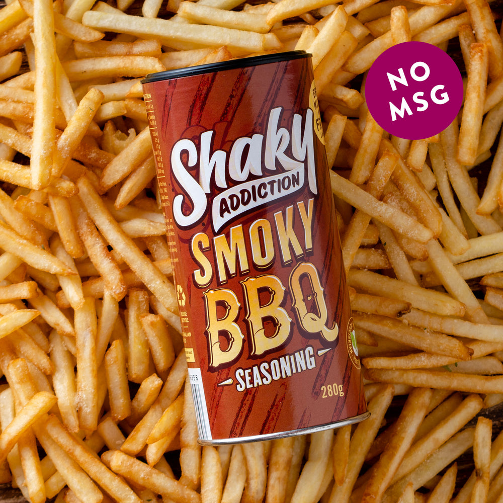 Smoky BBQ Flavoured Salt 280g Jar