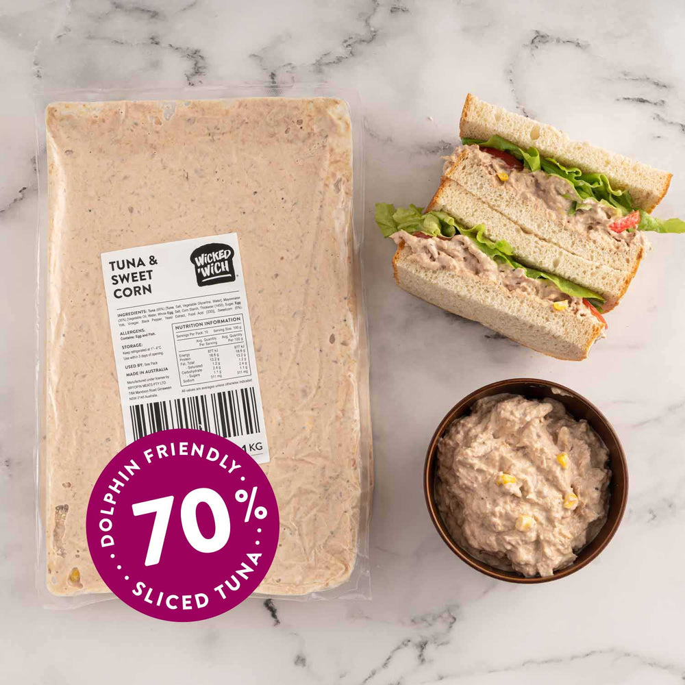 Load image into Gallery viewer, Tuna & Sweet Corn Sandwich Filling 1kg Pack