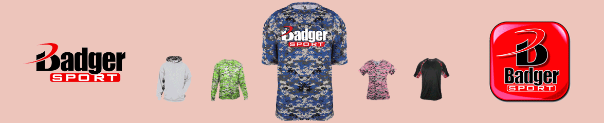Badger CAMO Apparel