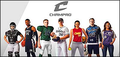 Champro Apparel and Gear on HITaDouble
