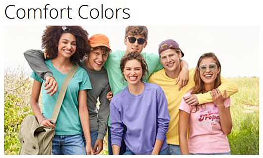 Comfort Colors Apparel