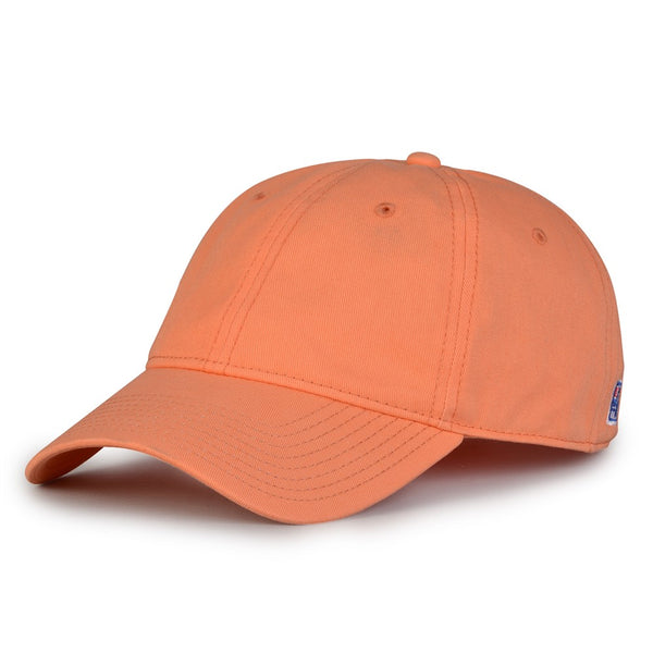 The Game GB210 Classic Relaxed Garment Washed Twill Cap - Coral