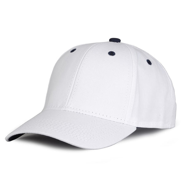 The Game GB2016 White Snapback Cotton Twill Cap - White Navy