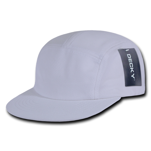Decky 1000 Performance Mesh Racer Cap - White - HIT A Double