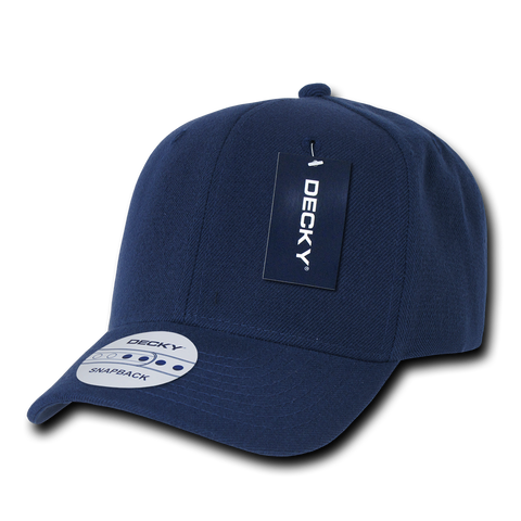Decky 1015 Curved Bill Baseball Cap - Navy - HIT A Double