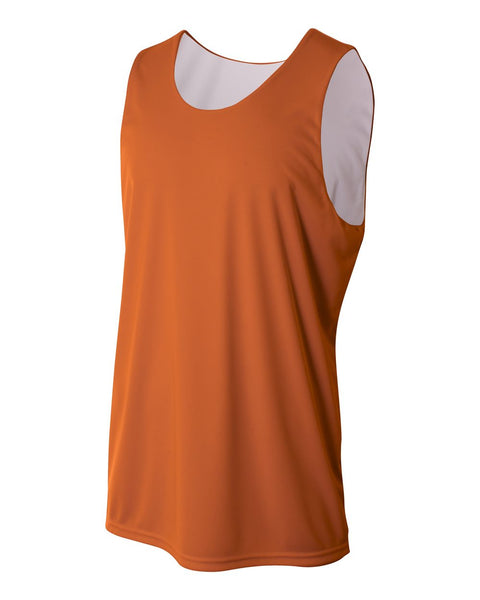 A4 N2375 Reversible Jump Jersey - Orange White