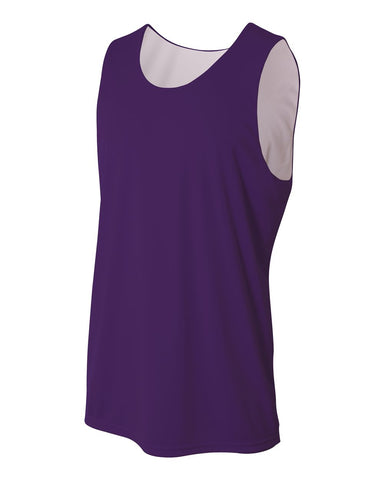 A4 NB2375 Youth Reversible Jump Jersey - Purple White