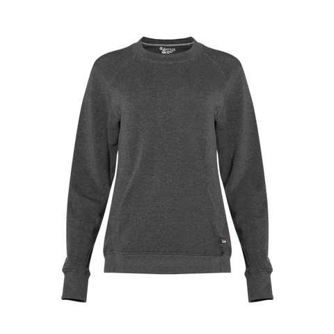 Badger 1041 Fit Flex Ladies' Crew - Charcoal