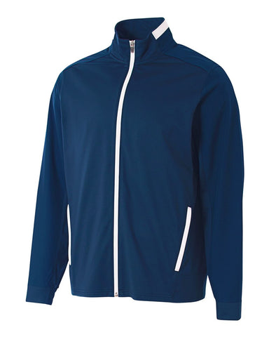 A4 N4261 League Full Zip Warm Up Jacket - Navy White