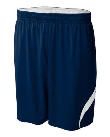 A4 N5364 Double Double Short - Navy White