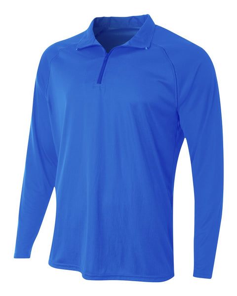 A4 N4268 Daily 1/4 Zip - Royal - HIT A Double
