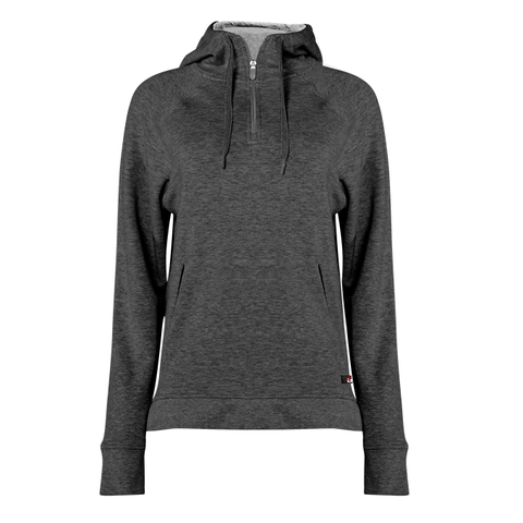 Badger 1051 Fit Flex Ladies' Hood Zip - Charcoal