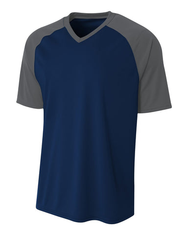 A4 N3373 Strike Jersey - Navy Graphite - HIT A Double
