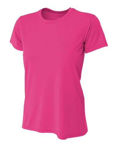 A4 NW3201 Women's Cooling Performance Crew - Fuchsia