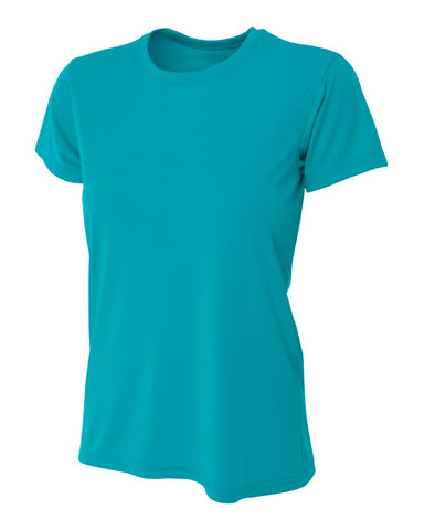 A4 NW3201 Women's Cooling Performance Crew - Teal