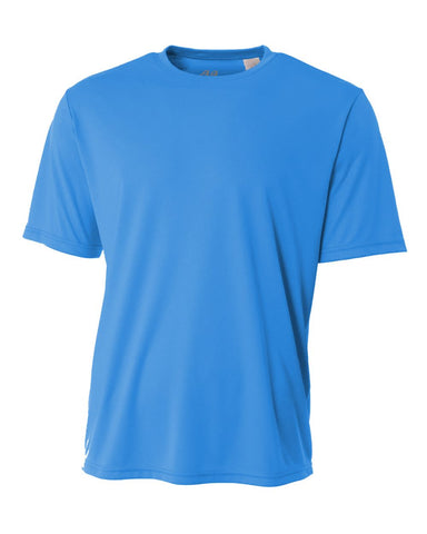 A4 NB3142 Youth Cooling Performance Crew - Electric Blue