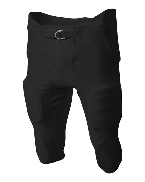 A4 N6198 Integrated Zone Pant - Black