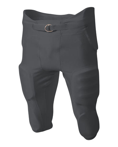 A4 NB6198 Youth Integrated Zone Pant - Graphite