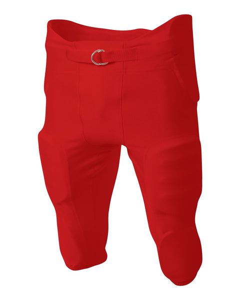 A4 NB6198 Youth Integrated Zone Pant - Scarlet