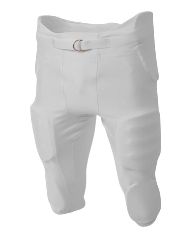 A4 NB6198 Youth Integrated Zone Pant - Silver