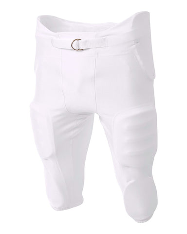 A4 NB6198 Youth Integrated Zone Pant - White
