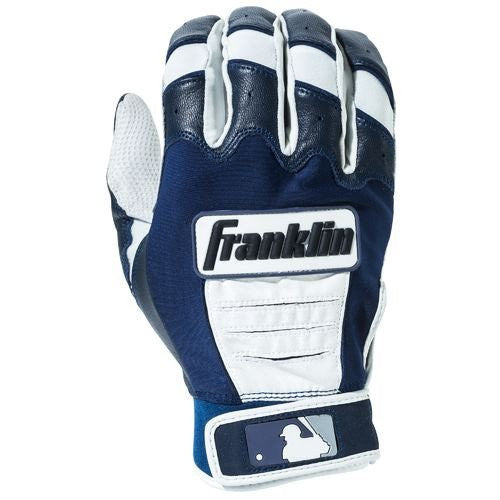 Franklin CFX Pro Adult Batting Gloves - Pearl Navy