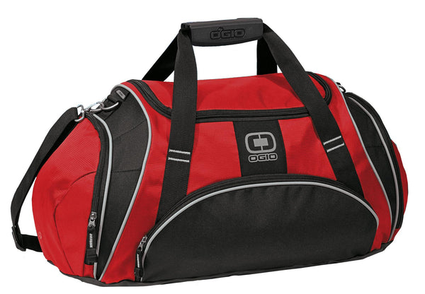 OGIO 108085 Crunch Duffel - Red - HIT A Double