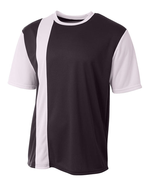 A4 N3016 Legend Soccer Jersey - Black White - HIT A Double