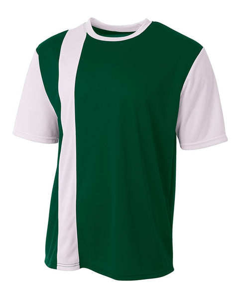 A4 N3016 Legend Soccer Jersey - Forest White