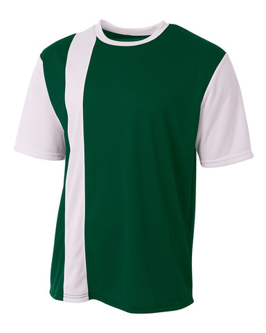 A4 N3016 Legend Soccer Jersey - Forest White - HIT A Double